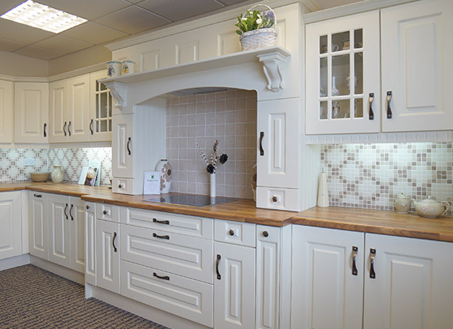 Contemporary Kitchens Prague Ivory