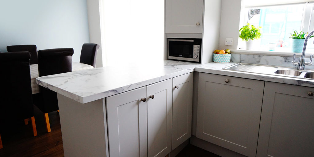 Shaker Light Grey Gallagher Kitchens