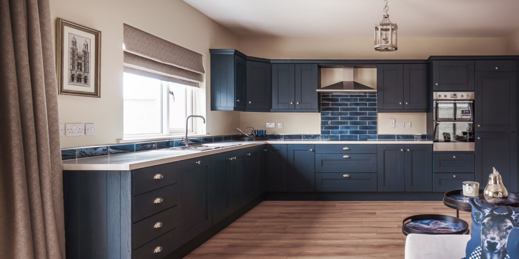 Midhurst Marine Blue Gallagher Kitchens